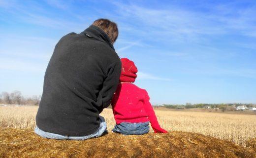 O dobrym mocowaniu się z synem